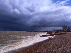 04/05/19 11:32:57 (HerneBayWX) Tags: herne bay weather hail rain downpour thunder trough wind april showers lightning deluge sleet