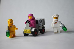 The Classic Space Crew (percy.pine) Tags: lego classic space galaxy explorer set 70841 497 refresh build moc update redesign spaceship crew astronauts spacemen rover