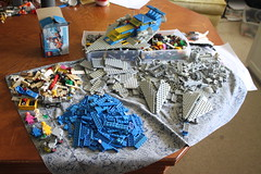 New WIP (percy.pine) Tags: lego classic space galaxy explorer set 70841 497 refresh build moc update redesign spaceship crew astronauts spacemen rover