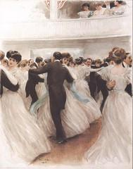 Victorian Waltz - Pierre Vidal - 1908 (Gareth Wonfor (TempusVolat)) Tags: garethwonfor tempusvolat gareth wonfor tempus volat mrmorodo art painting belleépoque beautiful elegant dress rich demure