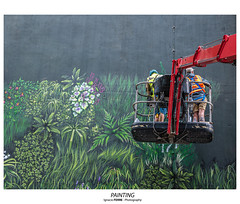 Painting (Ignacio Ferre) Tags: london londres lumix panasonic greatbritain granbretaña inglaterra england reinounido unitedkingdom painting pintando