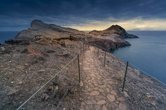 At the end of the land (Sizun Eye) Tags: saolourenço peninsule volcanic trail madeira madère sizuneye landscape shore coast coastline ocean sony 7rm2 7rmii sonyfe1635mmf28gm