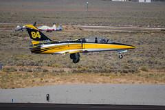 Race 84 Tumbling Goose (SBGrad) Tags: 200500mmf56e 2019 alr aerovodochody d750 friday l39 l39c n247sg nikkor nikon race84 reno renoairraces tumblinggoose aircraft airplane airport jet