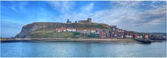 East Cliff, Whitby (Andy Stones) Tags: stmarys church historic grade1 anglican whitby harbour religion religiousbuilding town houses sea seafront picturesque view scenic nyorks yorkshire image imageof imagecapture photography photoof outdoors outside sky skywatching weather weatherwatch cliff cliffside populated