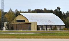 Old hangar at OSL ENGM Gardermoen (Inger Bjørndal Foss) Tags: hangar building airport gen osl engm gardermoen