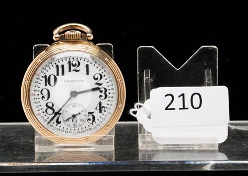 Hamilton Size 16 Railway Special Pocket Watch ($560.00)