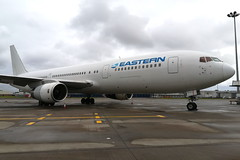 Eastern (N705KW) (Fraser Murdoch) Tags: glasgow international airport egpf gla scotland scottish huawei p8 lite 2017 airside stand 8 7 6 6a east pier aviation aircraft plane fraser murdoch swissport eastern eal 2d airlines air lines dynamic airways n705kw thomas cook mt tcx rescue flight repatriation rhodes boeing 767300 b767300 b767 767 b763 763 widebody charter