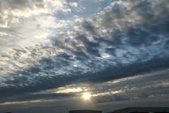 sunrise KCLE (GeorgeM757) Tags: georgem757 sunrise kcle clevelandhopkins canon650is airport nature color clouds