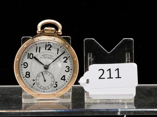 Hamilton Size 16 Railway Special Pocket Watch ($532.00)