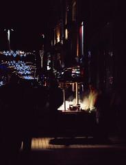 20110811 Atmospheric ([Ananabanana]) Tags: nikon d40 nikkor nikon50mm118ais nikkor50mm118ais nikkor50mmf18 50mmf18 50mm niftyfifty manualfocus prime primelens gimp photoscape nikonistas nikonista istanbul constantinople byzantium turkey türkiye republicofturkey türkiyecumhuriyeti istiklalavenue istiklalstreet istiklal street avenue smoke steam night nocturnal streetcart foodcart chestnuts roasting steaming europe european nightlife streetphoto streetphotography istiklalcaddesi