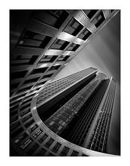 Rising (TS446Photo) Tags: nikon zeiss longexposure monochrome blackandwhite bnw architecture building frankfurt composition workshop london fineart photography ts446