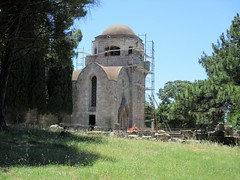 The Monastery of Panagia Filerimos (pefkosmad) Tags: ialysos filerimos rhodes rodos hill stationsofthecross monastery dodecanese hellas greece greekislands griechenland church ancient acropolis cross
