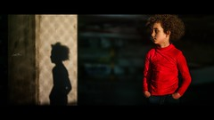 """Like a Shadow"""" I am and am not""""  ~rumi~ (Lorrainemorris) Tags: zeiss zeissbatis85 portrait cinematicphotography mood light shadows cinematic child red"""