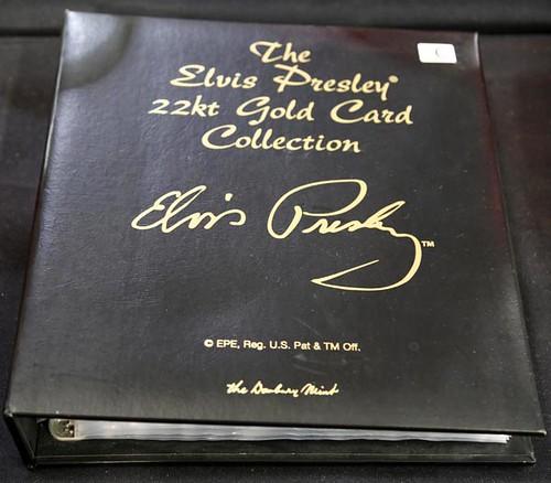 Elvis Presley Gold Card Collection ($156.80)