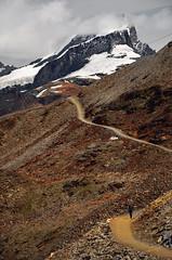 Gornergrat - Zermatt (Massimo Frasson) Tags: kodak kodakelitechromeextracolor svizzera suisse schweiz switzerland confederazionesvizzera confederazioneelvetica cantonvallese distrettodivisp zermatt ferroviadelgornergrat gornergratbahn gornergrat ghiacciaio montagna monti neve vette cielo roccia sentiero panorama landscape trekking escursionista