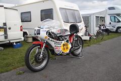 Charlie William's TT winning 385cc Maxton Yamaha, Classic Racing Motorcycle Club, Pembrey, South Wales. 19th April 2014. IMG_7555 (stevenbrown365) Tags: maxtonyamaha pembrey