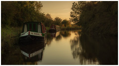 Here will do for the night. (Ian Emerson (Thanks for all the comments and faves) Tags: leedsandliverpoolcanal narrowboat canal tourism yorkshire serene calmness canon6d canon canalscape outdoor evening