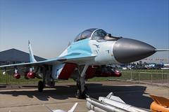 Mikoyan MiG-35D - 01 (NickJ 1972) Tags: maks airshow zhukovsky 2019 aviation mikoyan mig35 mig29 fulcrum 11 blue