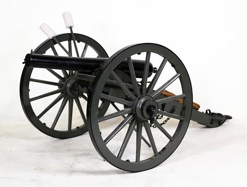 Parrot rifle ¾ scale working Civil War cannon with ammo ($1,176.00)