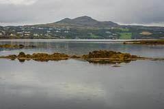 Ireland-13 (masonandy2015) Tags: donegal ireland bay beach clouds grass headland hills inlet mountans ocean rain raindrops reflections rocks sea seaweed skysunlight stone stones
