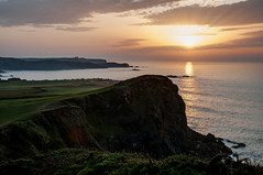Acantilados (ccc.39) Tags: asturias verdicio acantilados mar cantábrico atardecer puestadesol gozón costa sunset sea shore coast cliffs
