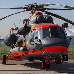 Mil Mi-8AMTSh-VA - 02 (NickJ 1972) Tags: maks airshow zhukovsky 2019 aviation mil mi8 mi17 hip rf04508 78 yellow