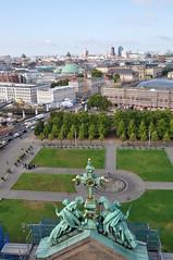 Lustgarten (Ryan Hadley) Tags: berlinskyline skyline berlinerdom museumisland museumsinsel berlin germany europe lustgarten park unterdenlinden französischerdom frenchcathedral sthedwigscathedral sankthedwigskathedrale sonycenter cityscape