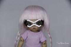 Splatoon wigs made of polymer clay (AnnaZu) Tags: annazu annaku polymer clay splatoon fairyland pukipuki doll wig splatoon2 marie carrie vesnushkahandmade commission