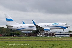 B737-8AS EI-ESF ENTER AIR (shanairpic) Tags: jetairliner passengerjet shannon b737 boeing737 enterair spesf