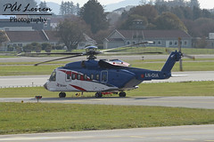 Bristow Norway - LN-OIA - 2019.09.25 - ENZV/SVG (Pål Leiren) Tags: stavanger sola norway svg enzv flyplass airport planes plane planespotting aviation aircraft runway rw airplane canon7d 2019 airliner jet jetliner september september2019 sikorskyaircraftcorporation sikorsky s92a helicopter heli bristow lnoia bristownorway