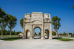 Roman Triumphal Arch, Orange, Vaucluse, France (antonskrobotov) Tags: orange france vaucluse ancient arch triumphalarch romanempire ancientcity provence