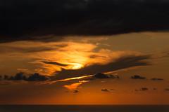 Rubans noirs (Samuel Raison) Tags: sunset coucherdesoleil corse corsica nature clouds nuages soleil sun mer sea nikon nikond800 nikon2870200mmafsvr