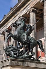 Equestrian Statue (Ryan Hadley) Tags: museum sculpture art museumisland museumsinsel berlin germany europe worldheritagesite altesmuseum equestrianstatue statue