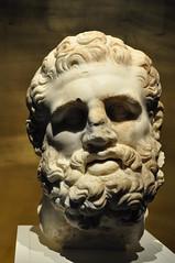 Zeus (Ryan Hadley) Tags: museum pergamonmuseum pergamonmuseumdaspanorama sculpture berlin art germany greek europe worldheritagesite zeus museumsinsel museumisland pergamonaltar
