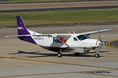 Cessna.N990FX (Airliners) Tags: fedex fedexfeeder federalexpress cessna caravan cessnacaravan cessnacargomaster cessnasupercargomaster cessna208b cargo freighter iad n990fx 92519