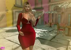 Wishful (alexandra sunny) Tags: samia avale catwa dubaievent cosmopolitanevent almamakeup lookevent red fashion female landscape blog truth blogger secondlife atapuerca maitreya aviglam