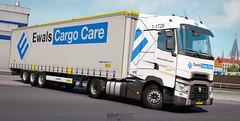 (gripshotz) Tags: t renault range 2 truck krone skin euro cargo romania trailer care simulator ets mega liner ewals