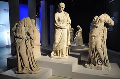 Greek Sculptures (Ryan Hadley) Tags: pergamonmuseumdaspanorama pergamonmuseum museum pergamonaltar greek sculpture art museumisland museumsinsel berlin germany europe worldheritagesite