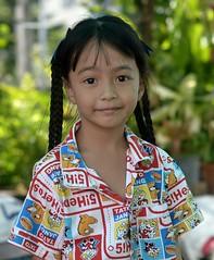 pretty girl (the foreign photographer - ฝรั่งถ่) Tags: pretty girl child preteen khlong lard phrao portraits bangkhen bangkok thailand nikon