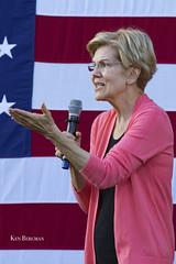 Elizabeth Warren (wandering tattler) Tags: democrat senator warren elizabethwarren lizwarren politician politics president newhampshireprimary candidate 2019 keene