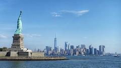 Liberty Island (dirklie65) Tags: manhattan skyline newjersey newyork libertyisland