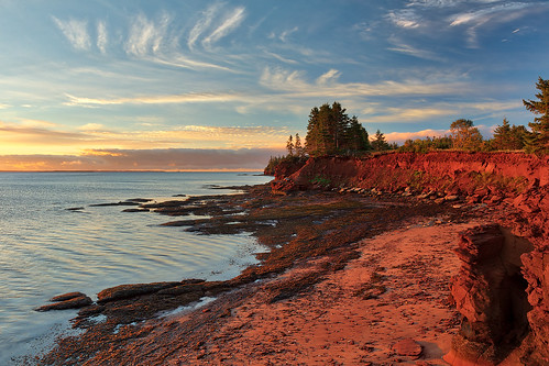 Red Sandstone Hour of Prince Edward Island