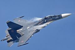 "Sukhoi Su-30SM RF-81881/""77 Blue"" (Nils Mosberg) Tags: sukhoisu30smflankerh rf81881 russiannavalaviation maks2019 zhukovsky"
