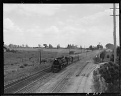 Frankton Auckland express near Taupiri J 1239.