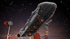 Engines -  Separator-class Star Destroyer (L-DI-EGO) Tags: lego starwars ucs space toy brick separator battle joke microscale moc tie