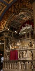 Shrine of Saint Vincent de Paul (Lawrence OP) Tags: vincentdepaul saints vincent vincentians charity reliquary relic body altar tabernacle paris