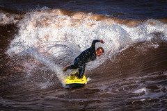 Wave Rider (RTA Photography) Tags: surfing waves actionphotography action adrenalin sea rough water nikon d750 70300 tamron70300 teignmouth southdevon summer