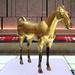 Gilt Ferghana Horse