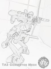 ROBOT WARS 2 - TA2 Convertion Mech (Marco Marozzi) Tags: lego legomech legodesign legomecha marco marozzi moc mecha robot