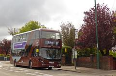 Nottingham City Transport 459 (SRB Photography Edinburgh) Tags: nottingham city transport nct bulwell brown 17 adl enviro gasbus buses bus ukbus